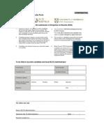 Old EoR Re-mark Application Form
