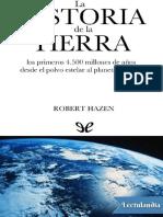 La Historia de La Tierra - Robert Hazen
