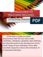 Approaches to Teaching Reading