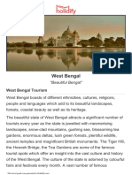 West-bengal Tourist Guide