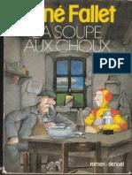 Rene Fallet La Soupe Aux Choux Denoel 1980