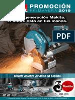 Makita folleto 2019