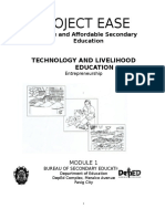 Technology and Livelihood Education Entre Module 1