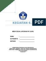 KEG 6.1 Penyusunan Laporan PK Guru PAUD