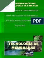 tecnologia de mebranas