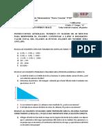 Guía examen matematicas 1 eso