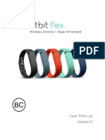 Manual Fitbit Flex en US