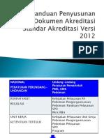 Panduan Penyusunan Dokumen Akreditasi [Autosaved] - Copy - Copy.ppt