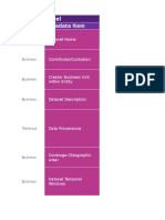 Data Inventory Descriptions