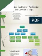 Análisis Geológico y Ambiental Del Cerro de La Popa