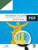 Kenneth A. Shepsle - Analizar la política_ Comportamiento, instituciones y racionalidad-CIDE (2016).epub