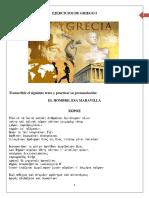 Ejercicios de Griego - Revisado