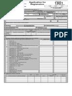 1901 Application for Registration (ENCS)2000