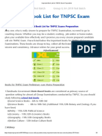 Important Book List for TNPSC Exam Preparation.pdf