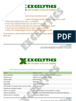 Know Excel Application Specifications