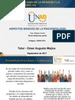 Unidad_1_grupo_110 Psicopatologia de La Infancia y La Adolescencia