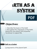 5. Earth as a System Earth Subsystems Internal Structure