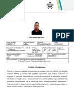 Hoja de Vida Roland Carrillo