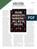 Easing Mandatory Minimums Will Not Be Enough