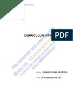 Ejemplo Curriculum Vitae