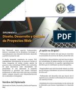 Diplomado en Diseño Desarrollo Gestión de Proyectos Web Profesional-Arts Instituto NAC