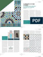 ALZADA 115 DICIEMBRE-17 Pp 42-49 La Alhambra Con Regla y Compás- El Trazado de Los Diseños Geométricos Nazaríes