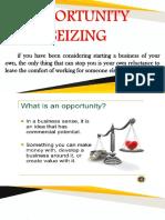 Entrep Opportunity Seizing