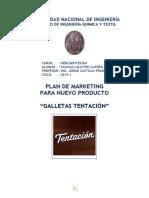Plan de Marketing Galletas Tentacion