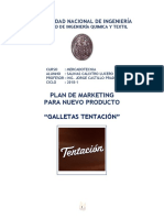 Plan de Marketing Galletas Tentacion