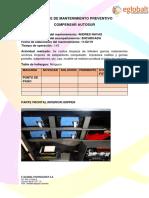 Mantenimiento Preventivo COMPENSAR AUTOSUR