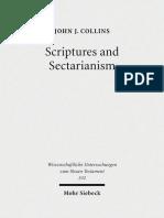 La Escritura y el Sectarismo