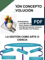 Expo 2 La Gestion Concepto y Evolucion