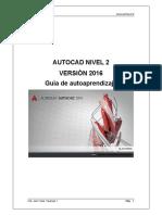 Manual Autocad Nivel 2  Version  2016 18092016 - DRAFT .pdf
