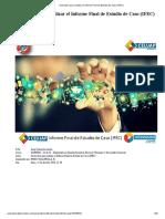 Instructivo Para Realizar El Informe Final de Estudio de Caso (IFEC)