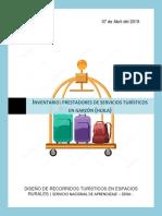 Inventario de Prestadores de Servicios Turísticos en El Munidipio de Garzón