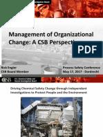 14 Rick Engler CSB Organizational Change