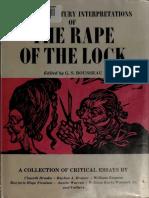 [20th Century Interpretations] G. S. Rousseau - Twentieth Century Interpretations of Alexander Pope's The Rape of the Lock_ A Collection of Critical Essays (1969, Prentice Hall).pdf