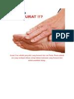 Asam Urat adalah penyakit yang berasal dari zat Purin.docx