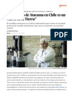 """""""El Desierto de Atacama en Chile Es Un Marte en La Tierra"""" - Ciencia - EL PAÍS"""