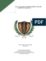 Resumen Del Capítulo 1 Desarrollo y Libertad de Amartya Sen