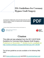 2011 CABG Guidelines