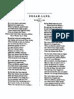 Dream Land by Edgar Allan Poe