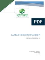 Carta de Crédito Stand by COMERCIAL III