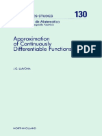 Approximation of Continuously Differentiable Functions_J. G. Llavona_North-Holland Mathematics Studies 130_Elsevier_1986_ISBN 0 444 70128 1.pdf