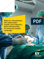 EY Ripe for Investment the Indonesian Health Care Industry Post Introduction of Universal Health Coverage