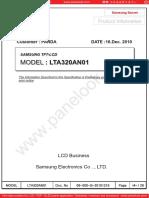 LTA320AN01 Samsung