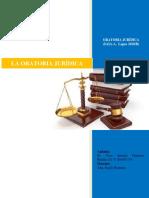 La Oratoria Jurídica (Tarea Al 30-06-2019)