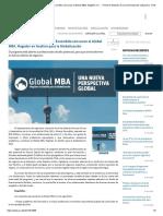 Universidad de Chile y Minera Escondida Convocan Al Global MBA, Magíster en... - Portal de Noticias de La Universidad de Valparaíso, Chile