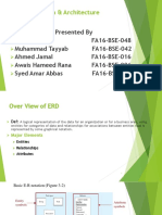 ERD Presentation