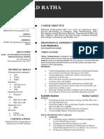 Resume DebiPrasad Tableau Power BI